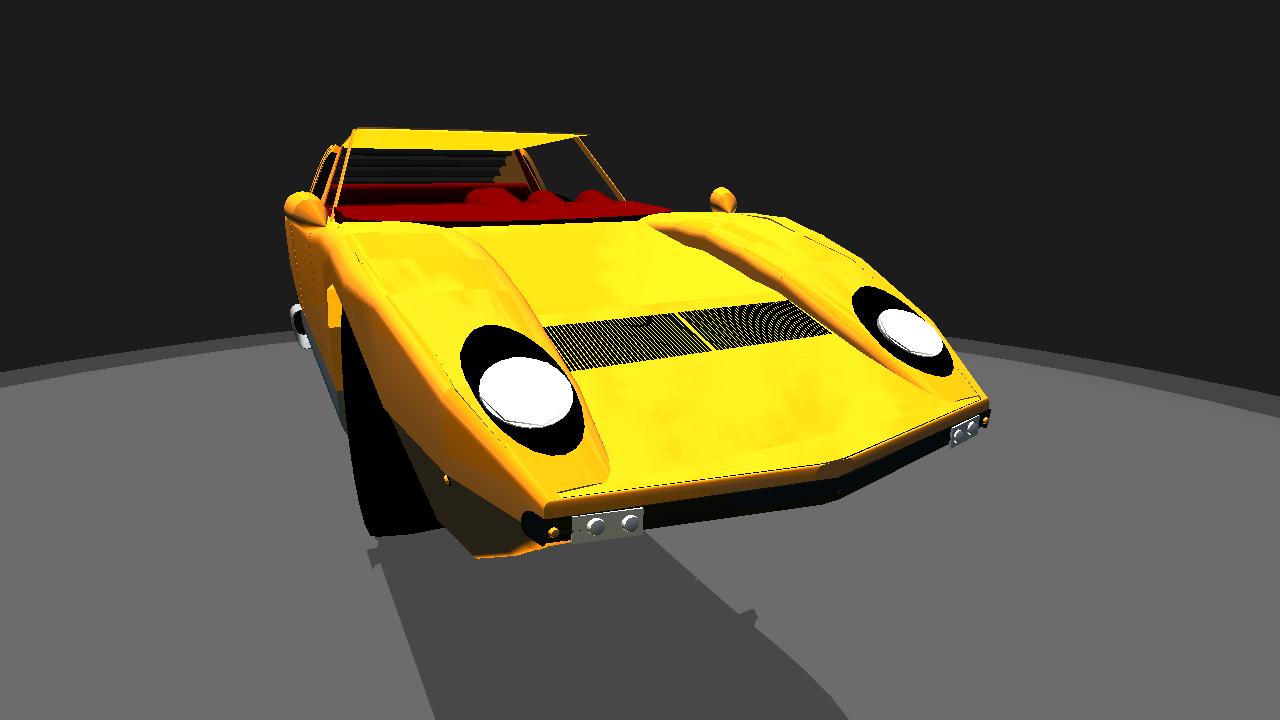 Simpleplanes 1966 Lamborghini Miura 1 1