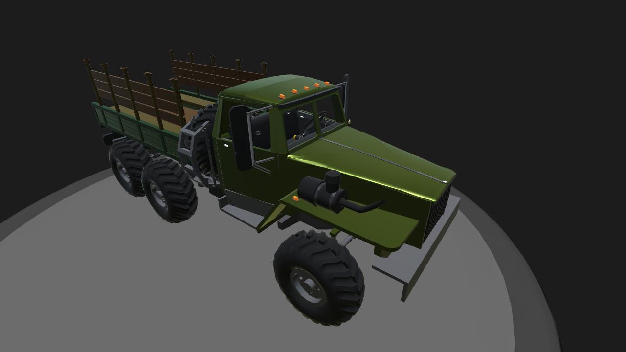 SimplePlanes | Ural 4320 Troop Bed