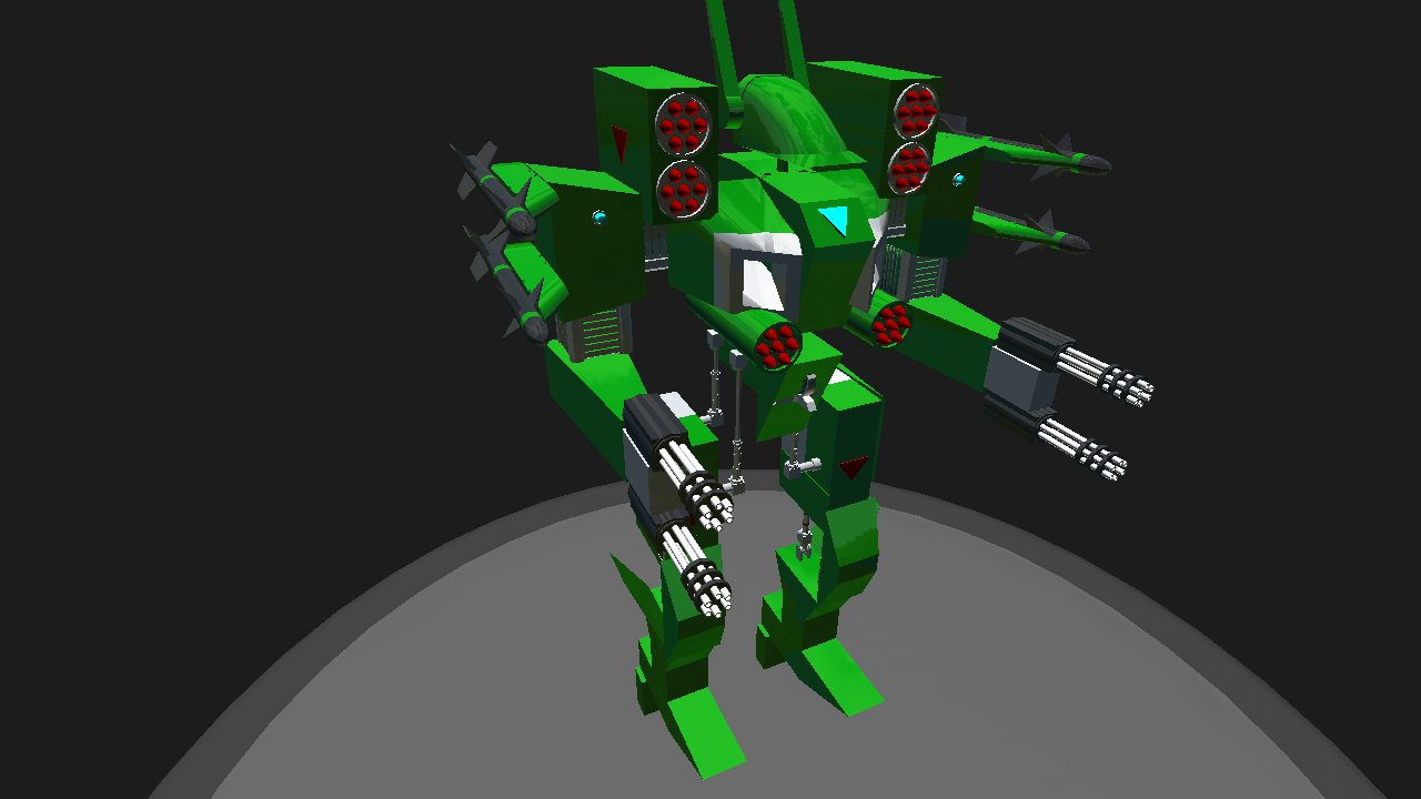 SimplePlanes | Mech warrior Heavy Assault