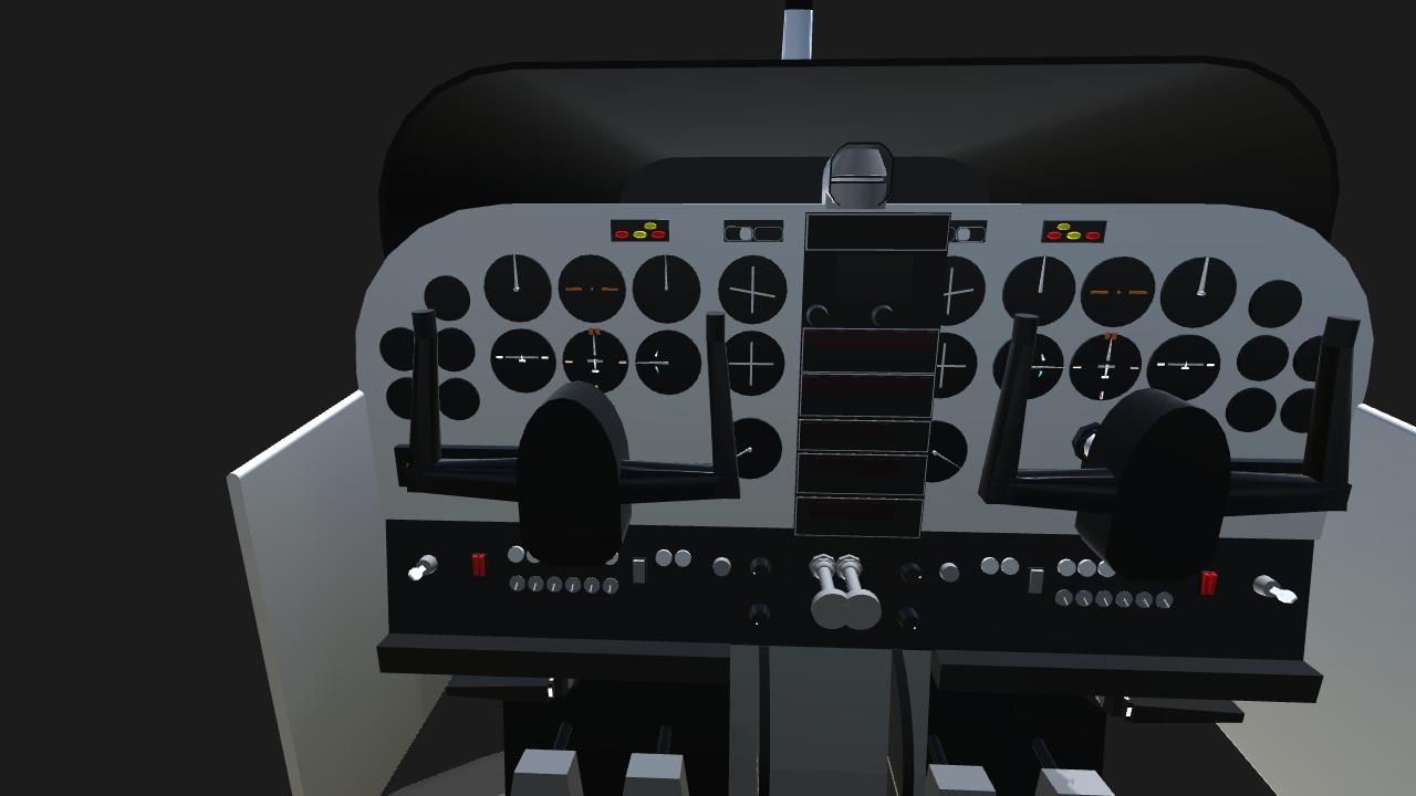 SimplePlanes | Cessna 172 Cockpit simulator