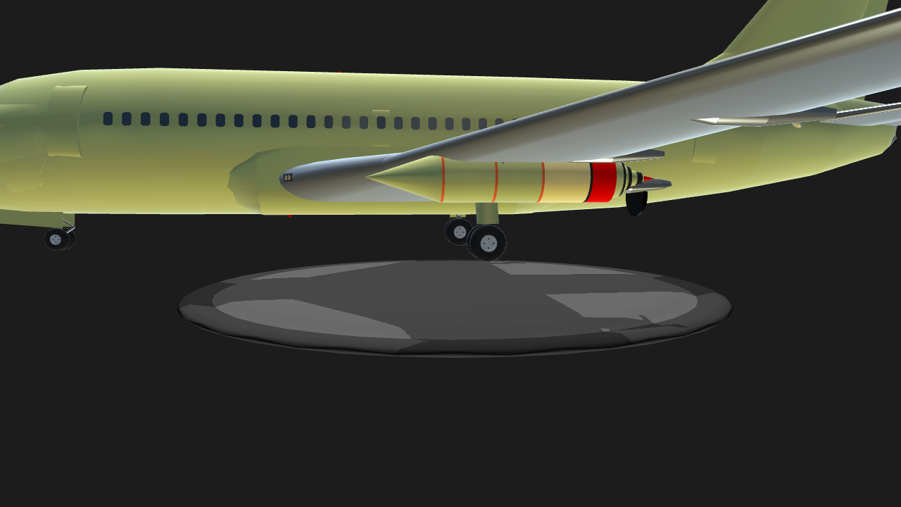 SimplePlanes   Boeing 737-200 with ion engine