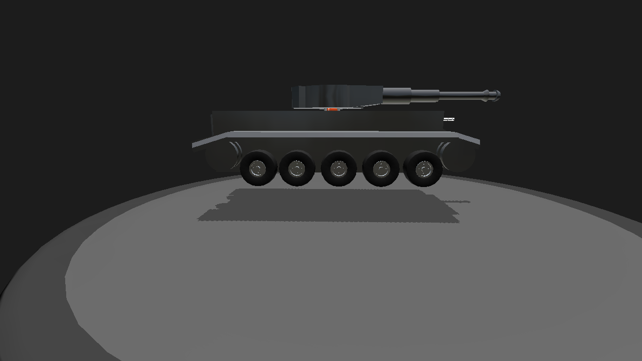 SimplePlanes   Eyes brand Tiger Tank