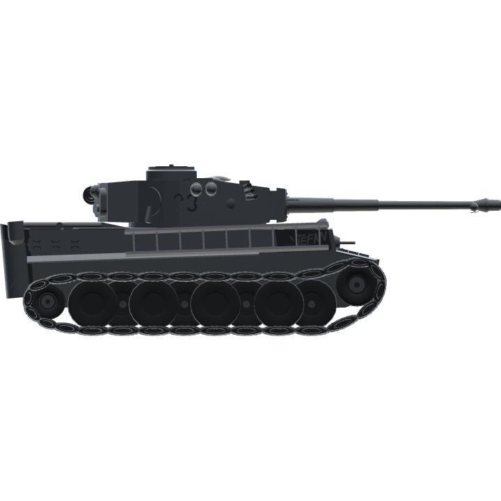 SimplePlanes   Pz Kpfw  VI Tiger I  '237 Stefan'