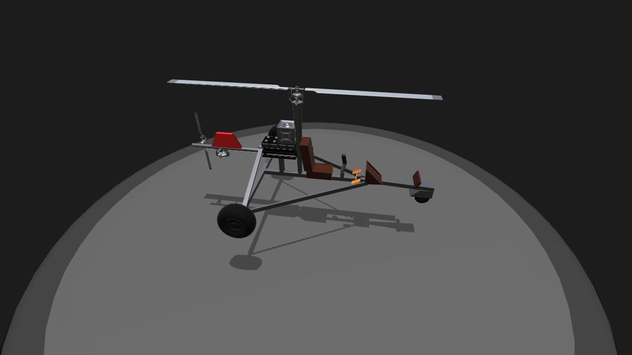 SimplePlanes | Rust Minicopter PLEASE USE 3 0 VERSION