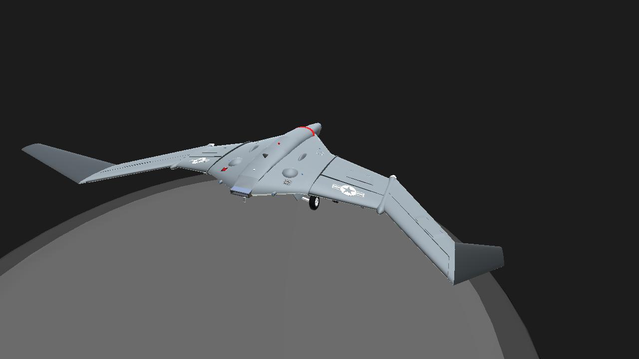 SimplePlanes | Rainier MQ-125A Ghost [FIXED COCKPIT VERSION]