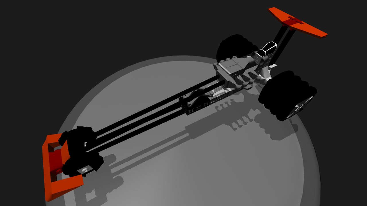 SimplePlanes | Rail Dragster
