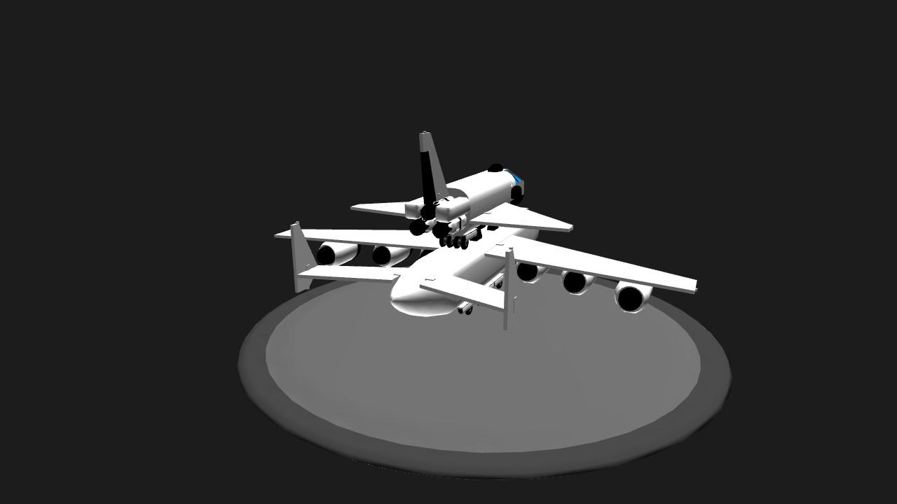 SimplePlanes | Antonov An-225 with Buran Orbiter