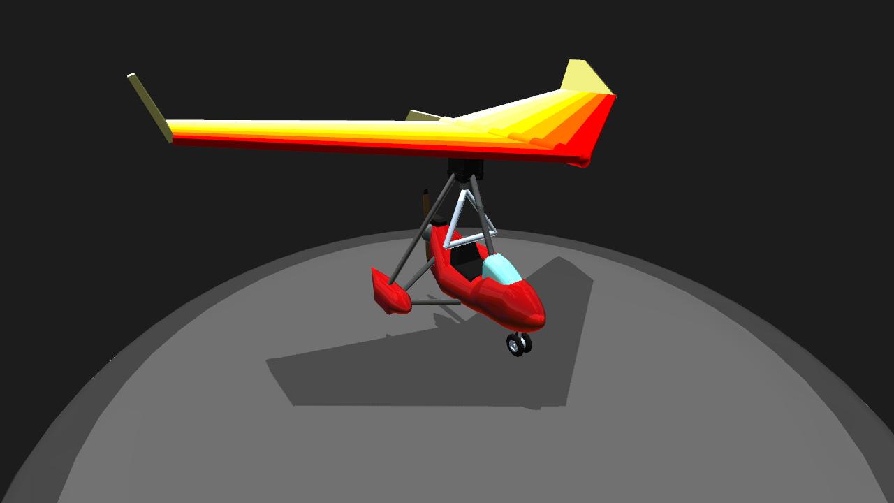 SimplePlanes | Ultralight Trike