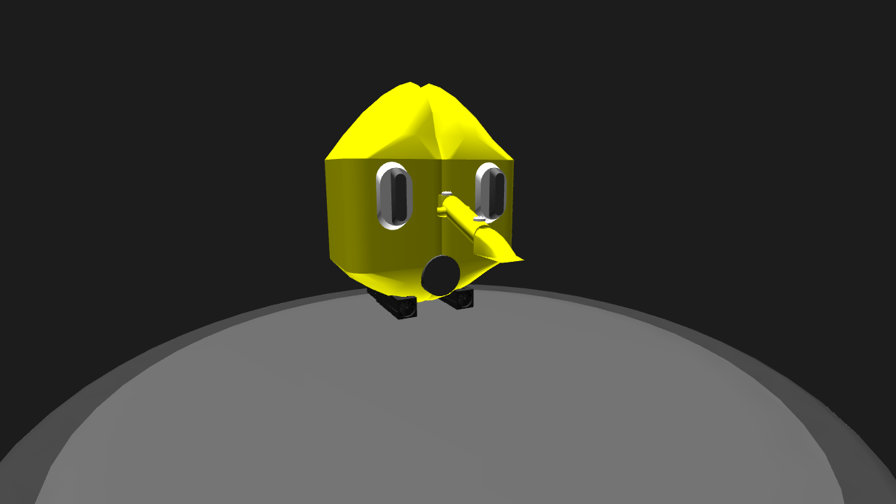 Simpleplanes Lemongrab With Rocket Nose