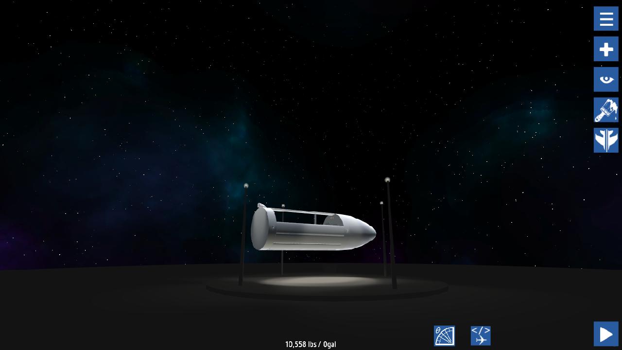 SimplePlanes | Deep Space Designer