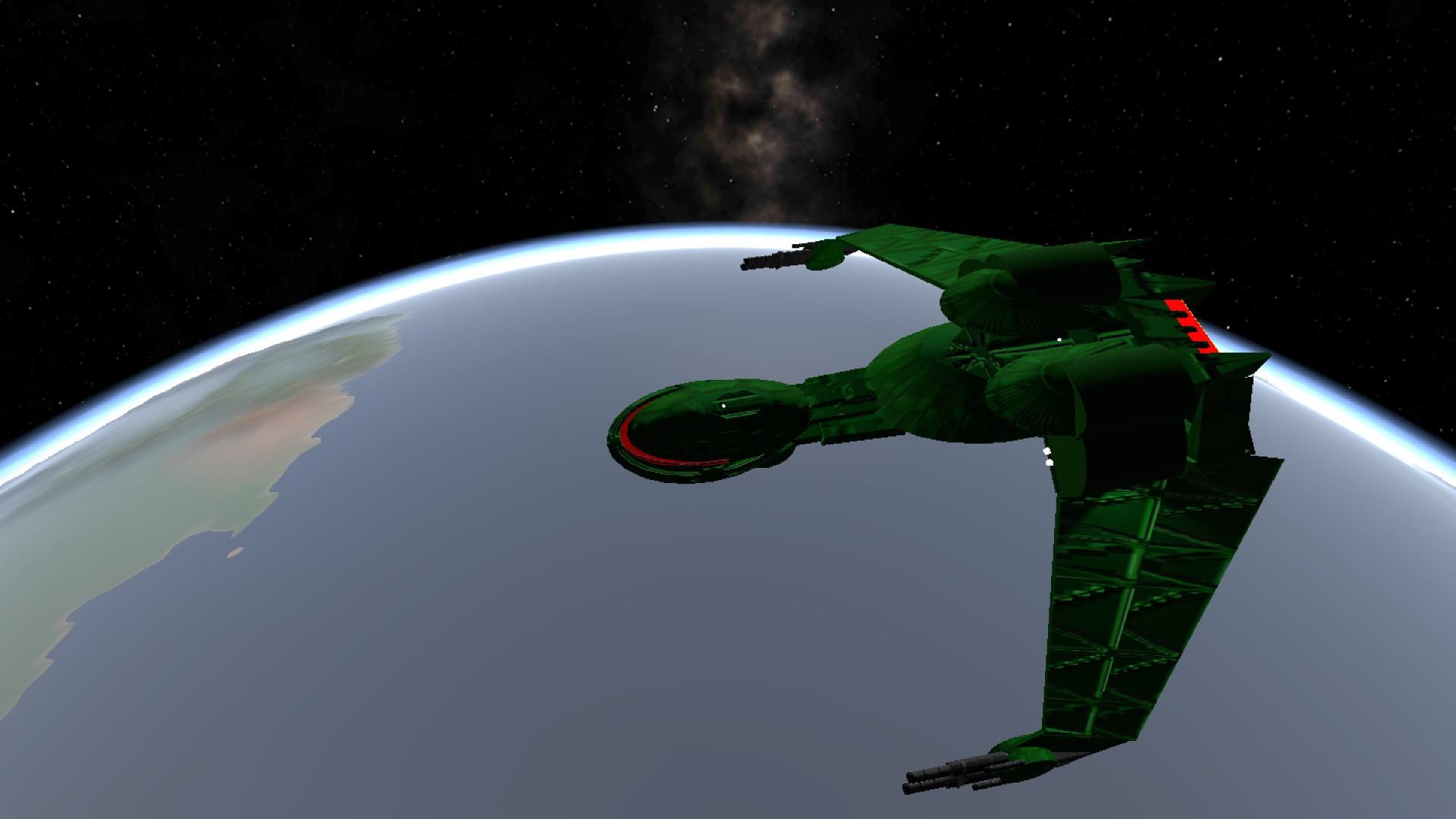 Simplerockets 2 Klingon Bird Of Prey Moving Wings