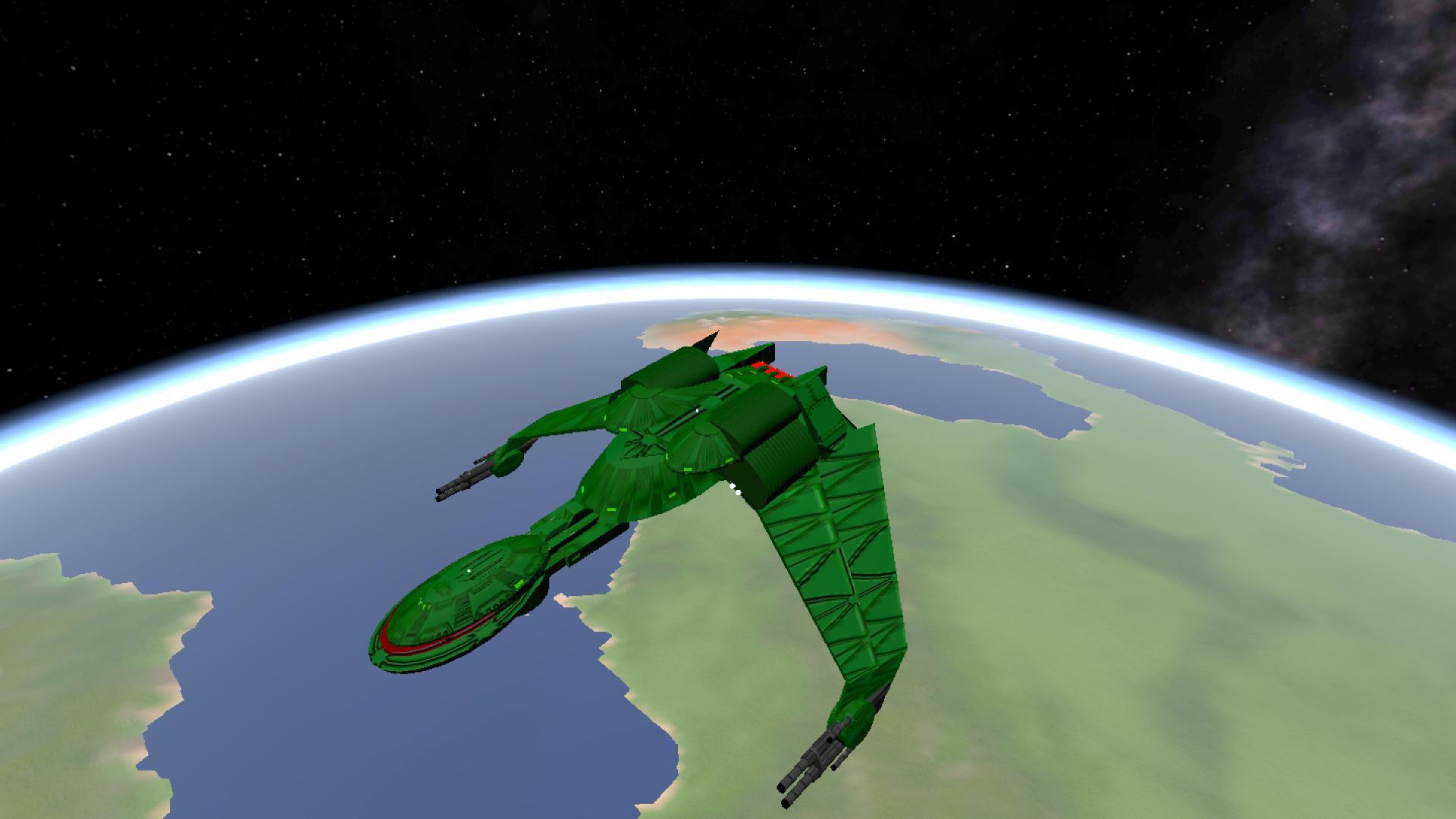 Simplerockets 2 Klingon Bird Of Prey Performance Upgraded