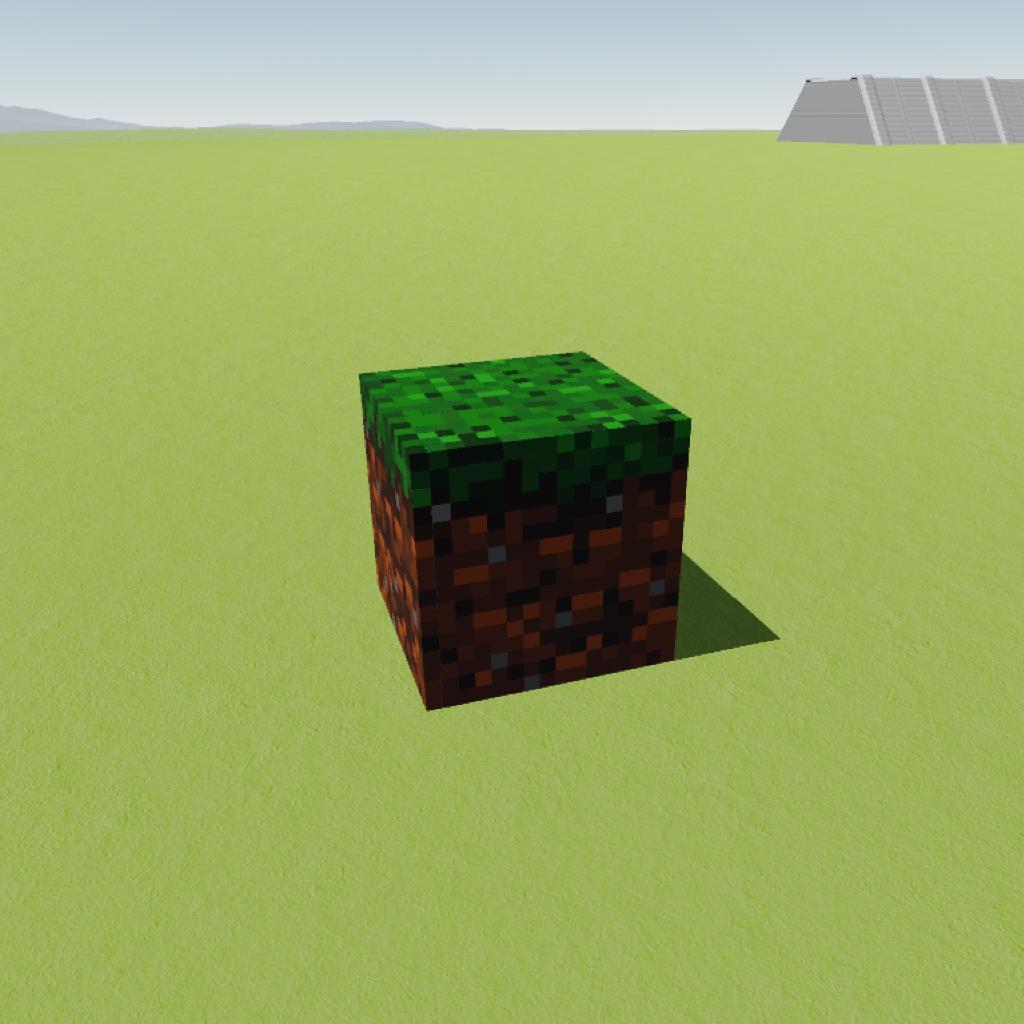 SimpleRockets 2  Minecraft-Grass Block