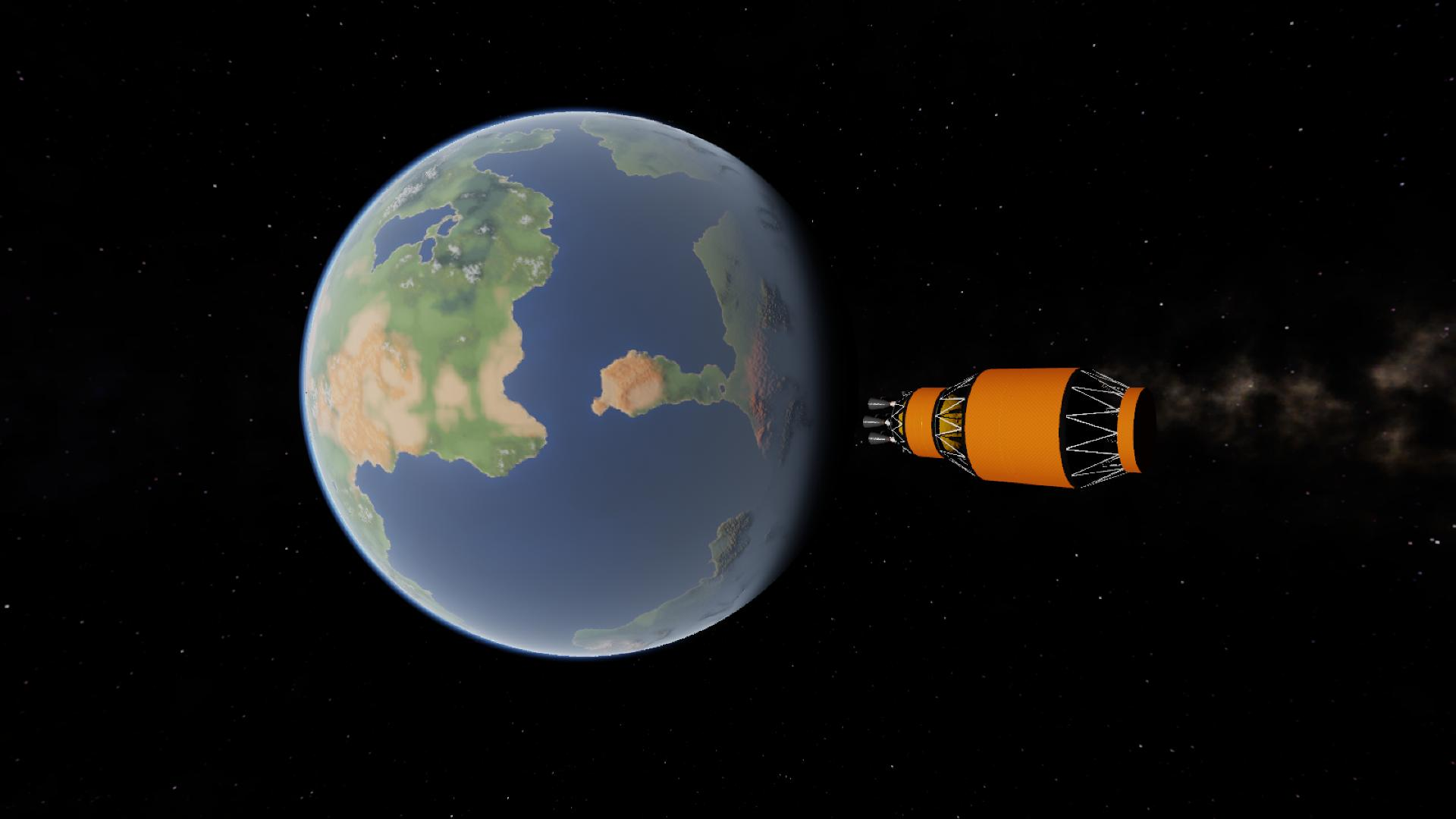 Escape orbit