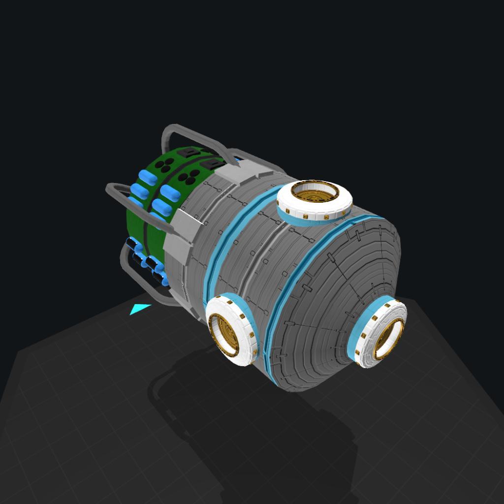 SimpleRockets 2 | [CSS] Hydroponics Module